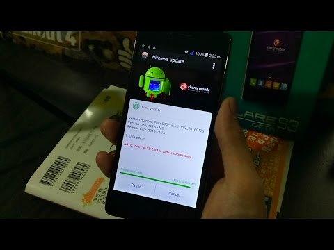 Flare S3 Octa OTA Update to Android 5.1 Lollipop