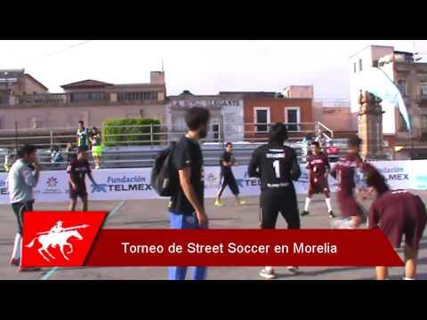 Torneo Street Soccer en Morelia