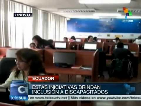 Ecuador's public policy helps aid the 'challenged'