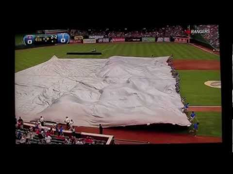 Thunder Blast at Rangers Game (Best Quality)