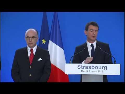 Le discours de Manuel Valls à Strasbourg