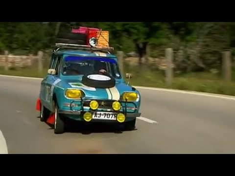 Classic car rally challenge day 2 - Top Gear - BBC