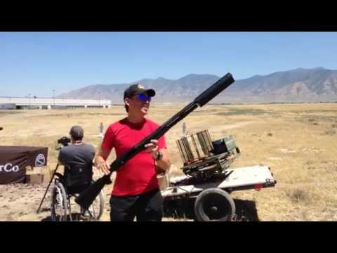 "SilencerCo ""Salvo"" Shotgun Suppressor Full Speed Dump"