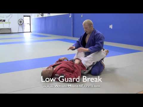 Maryland Jiu Jitsu Classes - How to open the closed guard without standing up Image 1