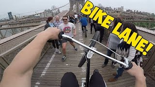 WHEELING FROM MANHATTAN TO BROOKLYN! (NYC)