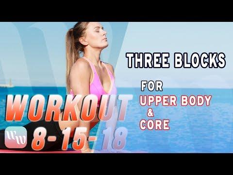 Workout 8-15-18