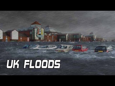 UK Floods: Escape From London