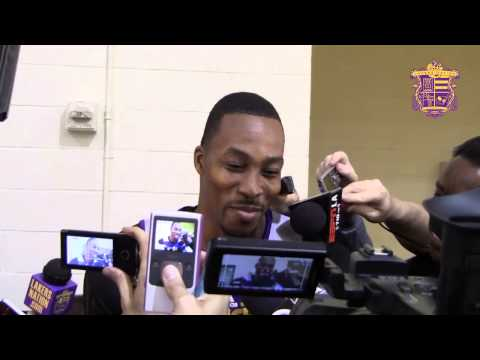 Dwight Howard Talks About Getting Through Early Season Frustrations