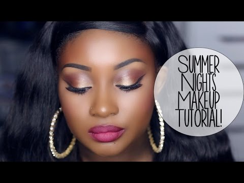 Makeup Tutorial   Summer Nights (ft. Glamierre Cosmetics)!