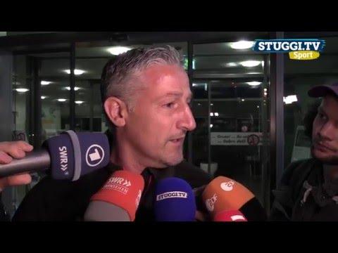 VfB-Abstieg: Mannschaft landet in Stuttgart