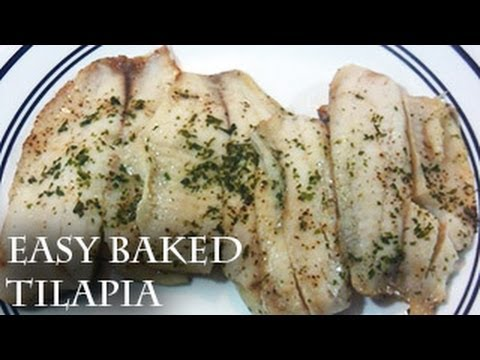 Easy Baked Tilapia  How To Bake Fish
