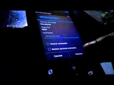 Como configurar la red inalámbrica de nuestro teléfono android