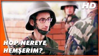 Hababam Sınıfı Askerde | Ercüment, Askerden Kaçmaya Çalışıyor | Türk Komedi Film