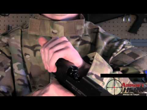 Airsoft Hero REVIEW: Cybergun CO2 Full Metal Desert Eagle .50cal Airsoft Pistol  -ASTKilo23-