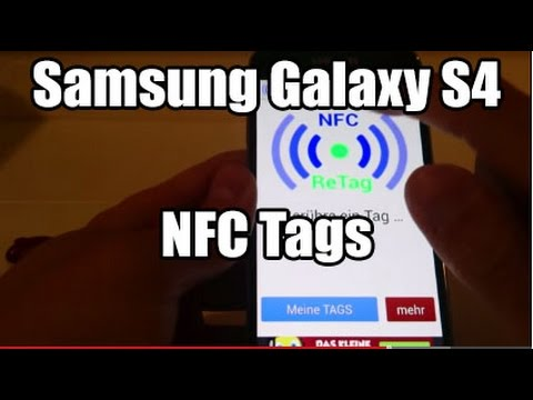 Samsung Galaxy S4 NFC Tags