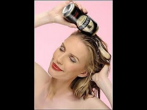 Tratamiento de CERVEZA y LECHE para un CABELLLO brilloso y abundante / Beer Hair Treatment
