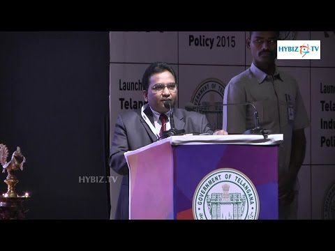 Rajanna Tata Consultancy Services Telangana Industrial Policy 2015 - Hybiz.tv