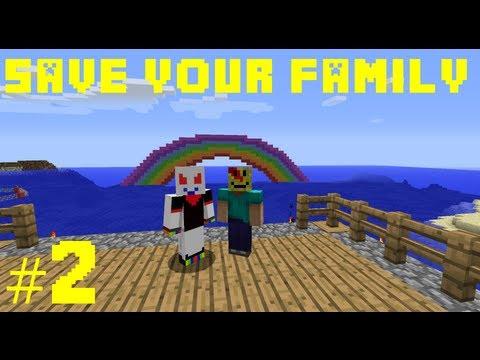 Minecraft save your family 2 arabic ماينكرافت أنقذ