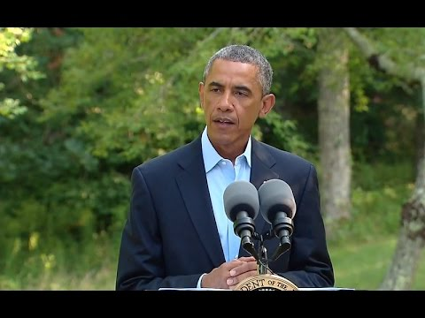 President Obama Discusses the Latest Developments in Iraq