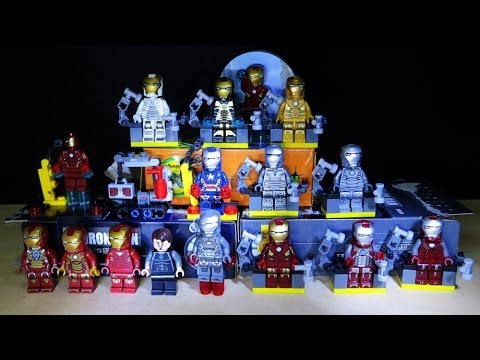 Lego MARVEL Superheroes Iron Man 2 DeCool Bootleg Review