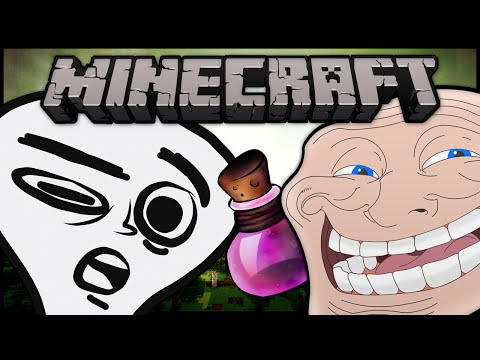 Minecraft: Trolling Little Kids #31 Potion of Harming