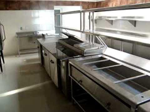 Equipamiento de cocina para restaurantes congelador for Mobiliario y equipo de cocina