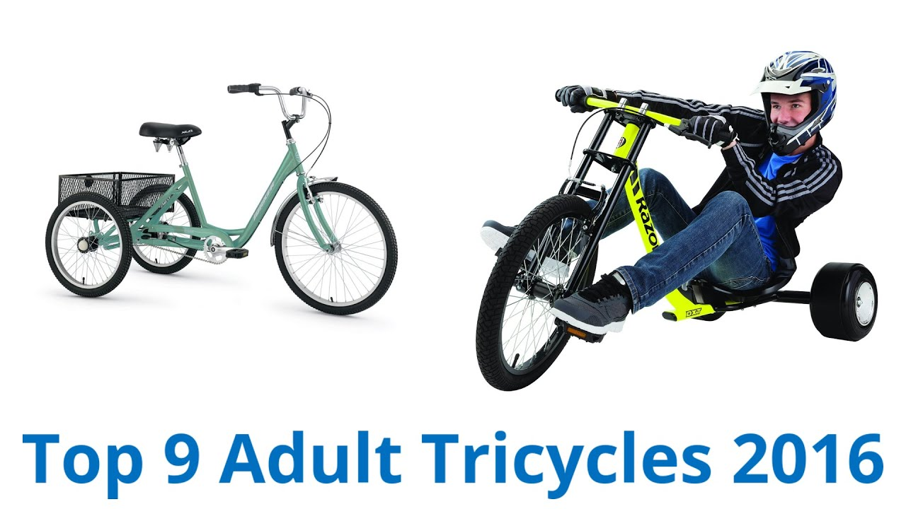 9 Best Adult Tricycles 2016