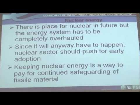 Role of Nuclear Energy in EU Energy Policy