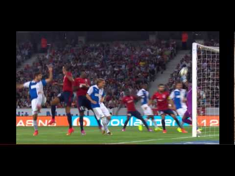 ★VINCENT ENYEAMA BIG SAVES | OSC LILLE 05.08.2014 vs Grasshopper Club Zürich|Champions League★