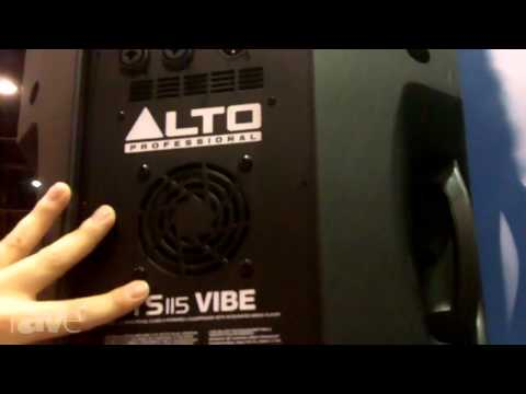 InfoComm 2013: Alto Professional Features TS115 Vibe Speaker