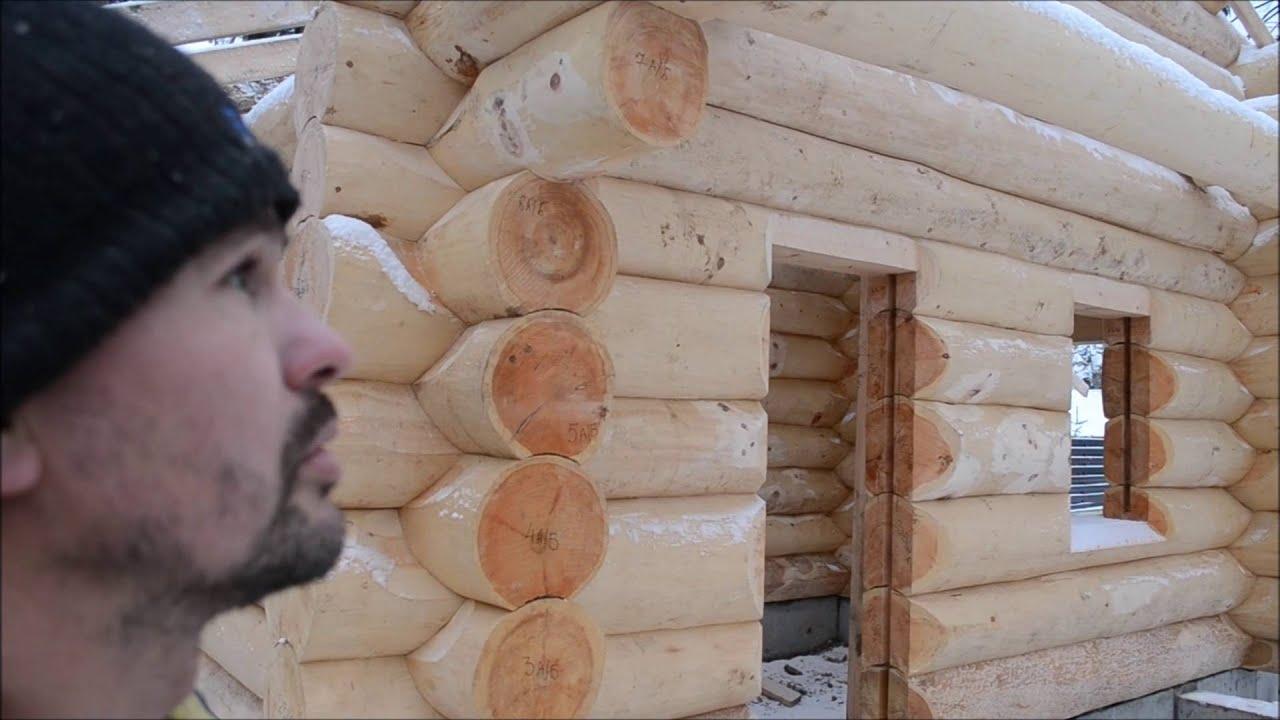 Технология изготовление срубов своимируками
