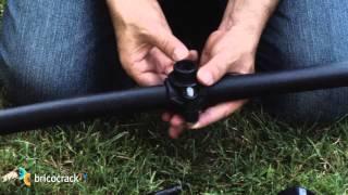 Jardinería: Instalar un sistema de riego automático 2 (BricocrackTV)