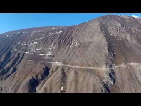 Перевал Кату-Ярык, съёмки с самодельного дрона - 21.4.2017 г.