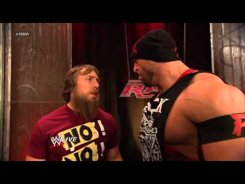 Ryback confronts Kane: Raw, May 6, 2013