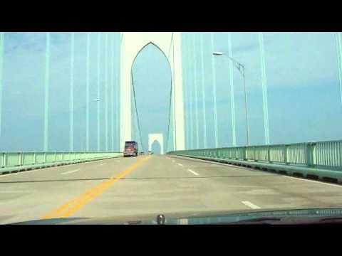 Claiborne Pell Bridge - Newport RI