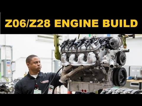 Corvette Z06 Lt4 And Camaro Z 28 Ls7 Engine Build
