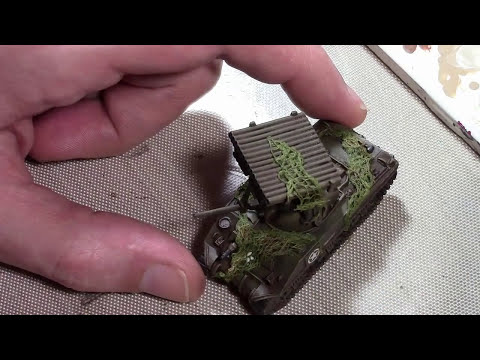 Camo Netting for 15mm Tanks