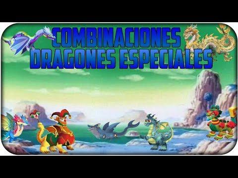 Como sacar a los nuevos Dragones Especiales 2014 - Combinaciones - Dragon City 2.6