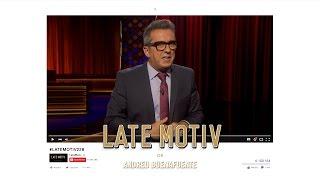 LATE MOTIV - Monologo de Andreu Buenafuente.