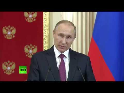 Пресс-конференция президентов России и Молдавии