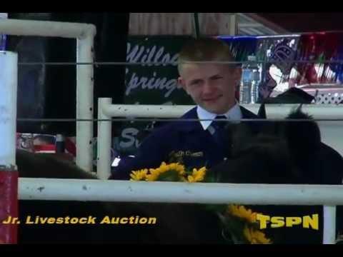 JR Livestock Auction & Sunday at the AC Fair 2012