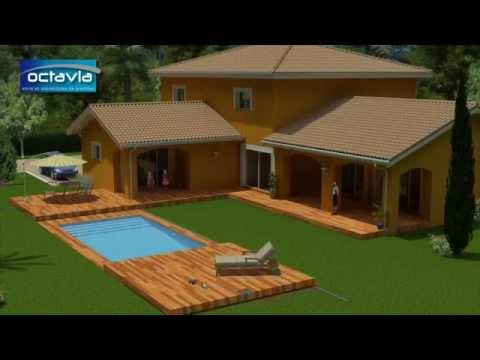 Terrasse mobile pour piscine youtube for Antialghe per piscine