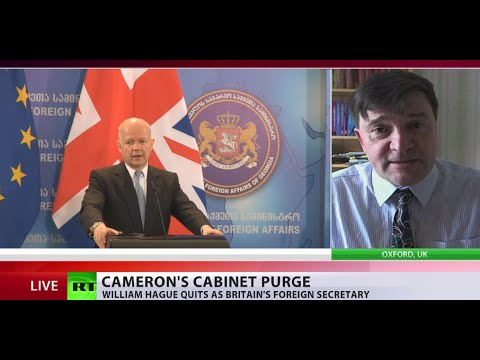 'Blair destroyed Iraq, Hague destroyed Libya & tried the same in Syria'