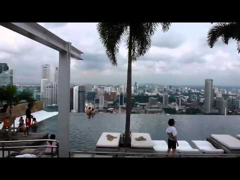 Marina Bay Sands SkyPark and Infinity Pool