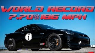 Alpha Omega Resets GT-R ¼ Mile Record: 7.70@186mph!