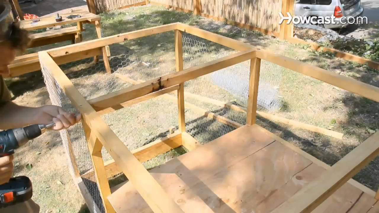 How To Build A Chicken Coop Youtube