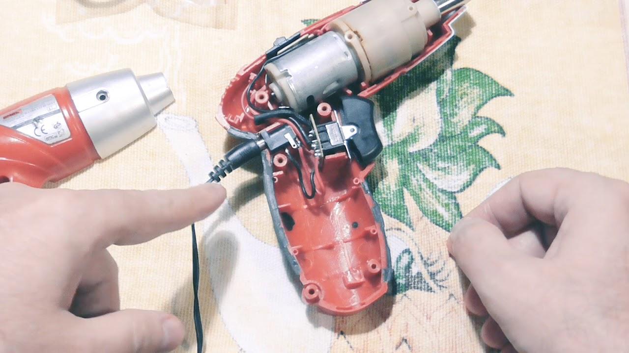 Шуруповерт зубр ремонт своими руками