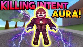 NEW KILLING INTENT AURA! | ROBLOX: Super Power Training Simulator