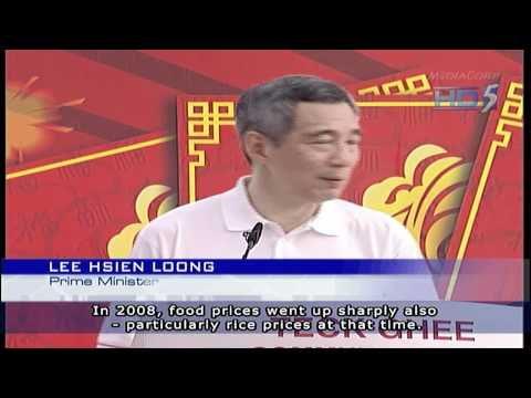 Singapore PM & SM Commented On Inflation - 23Jan2011