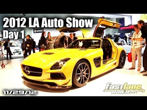2012 LA Auto Show Day 1 - Jaguar XF-RS, Diesel Audi, Acura RLX, &amp; More!